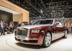 В Женеве представили Rolls-Royce Ghost